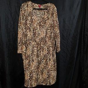 Merona print lightweight dress